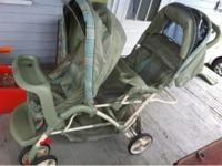 Graco duo glider double stroller in great condition.
