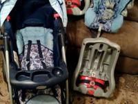 Graco Snugride 32. Package includes stroller (360