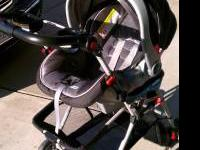 Graco snugride Infant carseat ,base and stroller