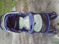 Graco stroller has been used would be great for a