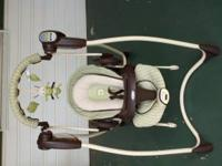 This is a Graco Infant Swing and Bouncer Duo. It has