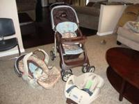 Graco travel system includes infant car seat, car seat
