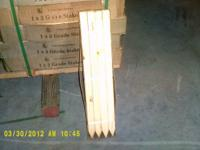 We have a couple hundred bundles of grade stakes. These