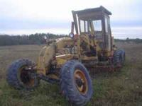 Up for sale is a grader built by the Huber machinery