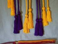 (Photo 1) Cap TASSLE $5. Only one red/yellow Tassle