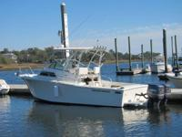 2011 refit, twin 200 yamahas with 350 hrs, barely