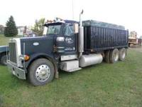 1989 peterbilt 400 cummins 13 spd tandum axle newer