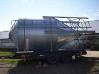 For Sale: I have a clean 15 ton Grain Bin. This is a 9'