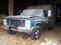 We have a 1 ton dump truck for sale. The truck needs