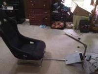 I have an original Playseat racing set up as wheel as a
