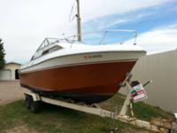 I have a 24' Grand Butte csbin cruiser. I just got with