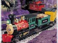 This train is perfect for train lovers big and small.