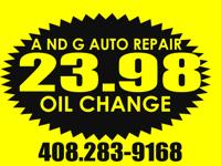 Express Oil Change Especial for $23.98 no need for