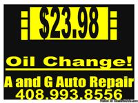 Oil Change Special $23.98 for this week!!!! print the