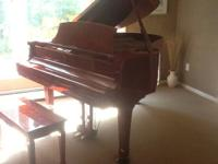 Young Chang Pramberger JP175 grand piano, excellent