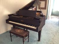 1923    Chickering & Sons Centennial Grand Piano  6'5""