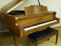 1985 Kimball Baby Grand in a fantastic walnut surface!