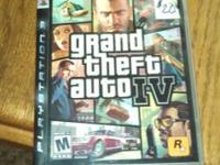 Grand theft auto 4 for PS3
