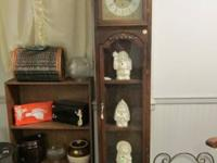 Grandfather or Grandmother type clock - hand made in