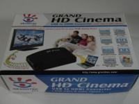 "Grandtec Grand HD Cinema USB to HDMI Converter ""Brand"