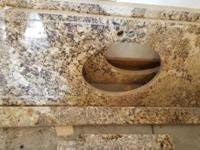 I have two granite counptertops whit finish holes ready