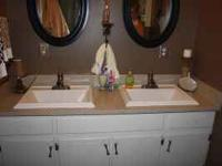 Awesome bathroom set. Moving and can not take. Text or