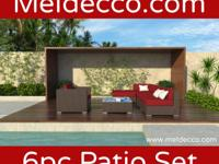 Type: Furniture Type: Corner Pieces Meldecco Patio