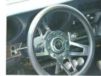 13 1/2 Inch Grant steering wheel From the Challenger
