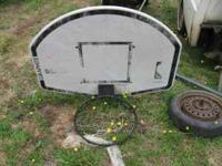 Graphite Slam Basketball Hoop--with mounting
