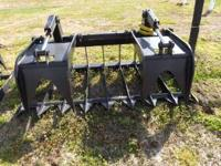 6 Brand NEW Skid Steer type Universal Root & Rock