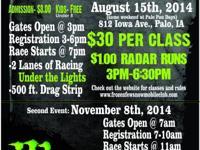 August 15th, 2014 @ Palo Fun Days 812 Iowa Ave., Palo,