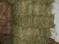 Nice grass hay stored indoors. Sold the horse. 3.00 per