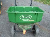 I have a Scotts 3000 grass spreader for sale. I'm