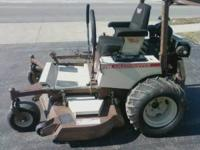"227 GRASSHOPPER---27HP. KOHLER AIR COOLED---61"" MOWER"