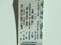 Selling a pair of real tickets for the Grateful Dead