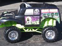 The Grave Digger Power Wheel from Fisher-Price has