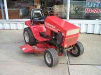 We are offering a nice used gravely lawn mower/tractor