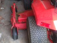 "gravely 20g 60"" mower deck including snow shovel and"