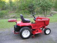 Gravely 20G Professional Garden Tractor with 50 inch