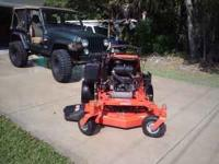 2007 Gravely Pro-Stance 2352fl ZTR mower for sale. Zero