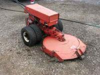 Gravely Commercial 12 walk behind with 32in rotary