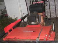 06 gravely hydro mower 48'' cut with a 15 horse