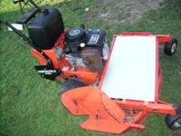 "GRAVELY 50 "" CUT KAWASAKI ENGINE ,JUST SERVICED WORKS"