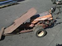 Selling a Gravely Professional 8 Walk Behind Tractor