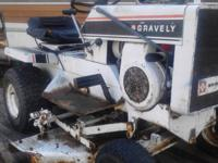 Gravely Riding Lawn Tractor Can not get it to run