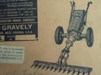 HAVE TWO VINTAGE GRAVELY (THE KILLER) TRACTOR! HAVE