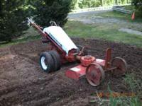 Gravely 1976 8 spd. Runs great. No attachment with