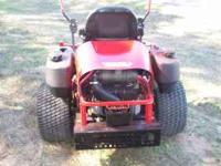 Commericial 2006 Gravely 252 z zero turn mower