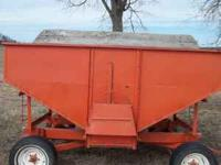 I have a very nice gravity wagon bed for sale just the