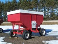 I have two gravity wagons available. Both in very good,